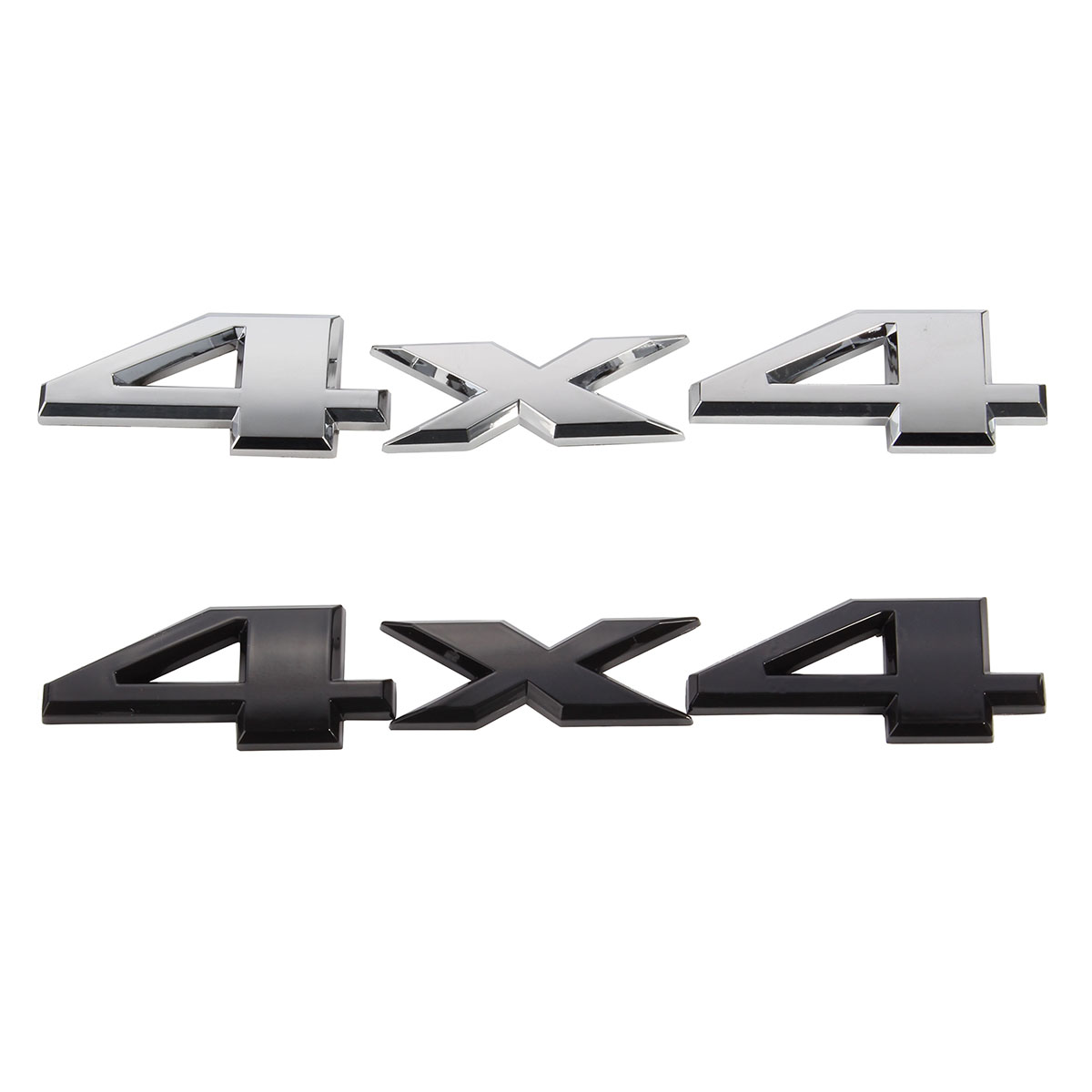 3D 4x4 Emblem Badge Car Sticker Logo Decal For Jeep /Grand /Cherokee Black Silver auto chrome camaro letters for 1968 1969 camaro emblem badge sticker