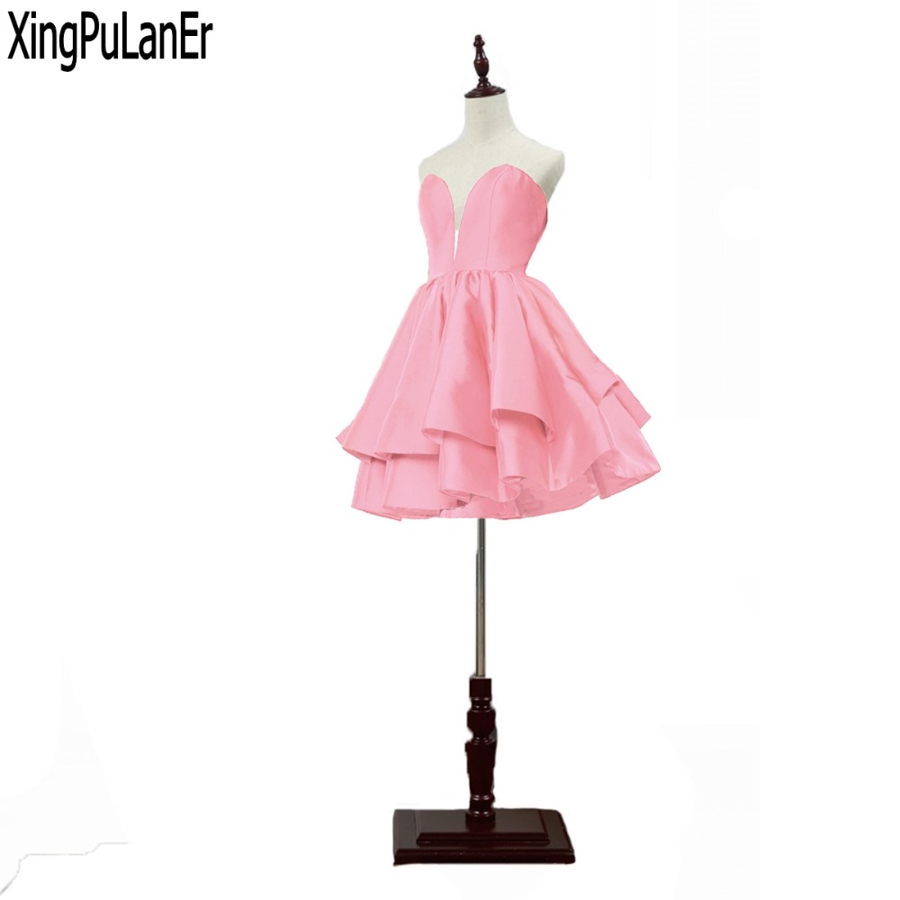 Online Shop for Popular cute short homecoming dresses from Vestidos ...