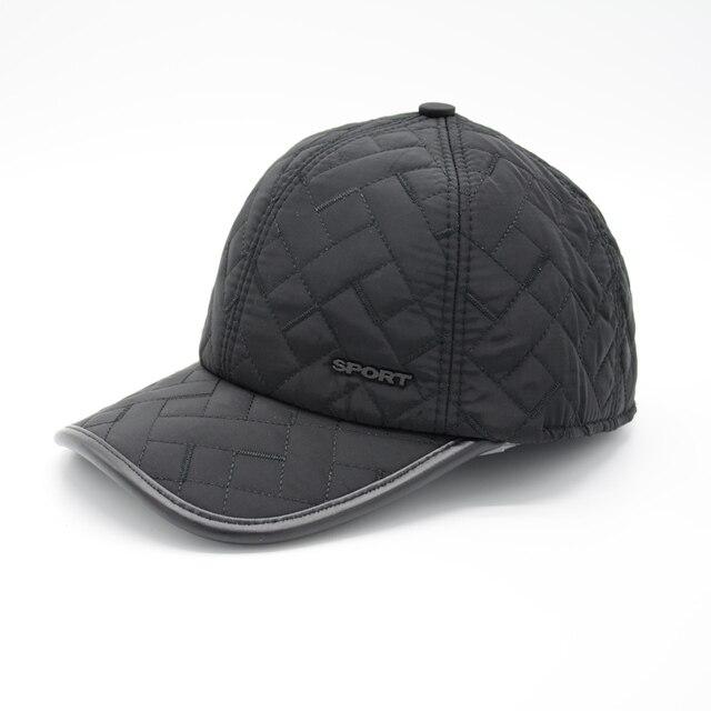 2016 марка бейсболка зима папа hat теплый Утолщенной хлопка snapback шапки Ухо защиты установлены шляпы для мужчин