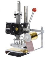 China Supplers Quality Products Manual Hot Foil Stamping Machine For Shoe T Shirt Leather Mark