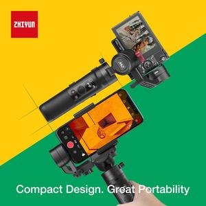 Image 4 - Zhiyun מנוף M2 3 ציר כף יד Gimbal מייצב לראי מצלמות טלפונים חכמים Gopro מייצב G6 בתוספת DJI ללא מעצורים S מקס