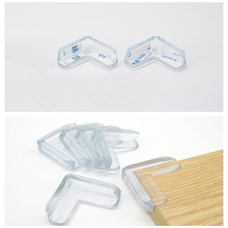 4pcs Baby Safety Table Corner Protector Transparent Anti-Collision Angle Protection Cover Edge Corner Guard Child Security Kids