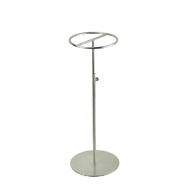 Free shipping Metal Hat display stand matte silver hat display rack hat holder cap display HH011 free shipping metal gold hat display stand polished gold cap display racks