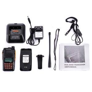 Image 5 - 2pcs Baofeng UV 6R שתי דרך רדיו סורק 7w VHF UHF Dual Band מכשיר קשר נייד רדיו חם Hf שימושי משדר רדיו Amador