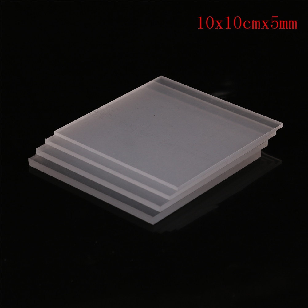 High Quality 2-5mm Plastic Transparent Board Perspex Panel Thickness 1pcs Clear Acrylic Perspex Sheet Cut
