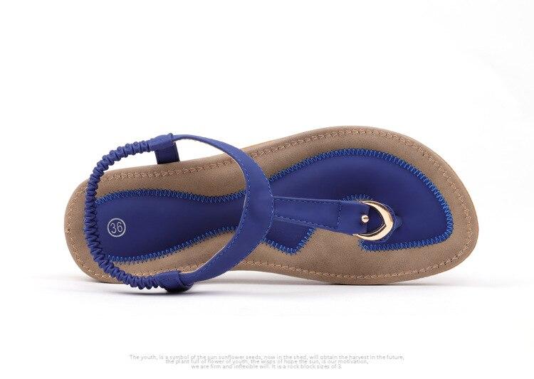 HTB1XDwWuhuTBuNkHFNRq6A9qpXaR BEYARNE size 35-42 new women sandal flat heel sandalias femininas summer casual single shoes woman soft bottom slippers sandals
