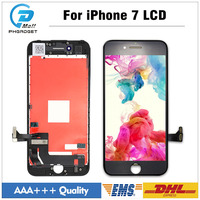 10 Pcs Lot Grade AAA Top Quality For IPhone 7 LCD Glass Display Digitizer With Good