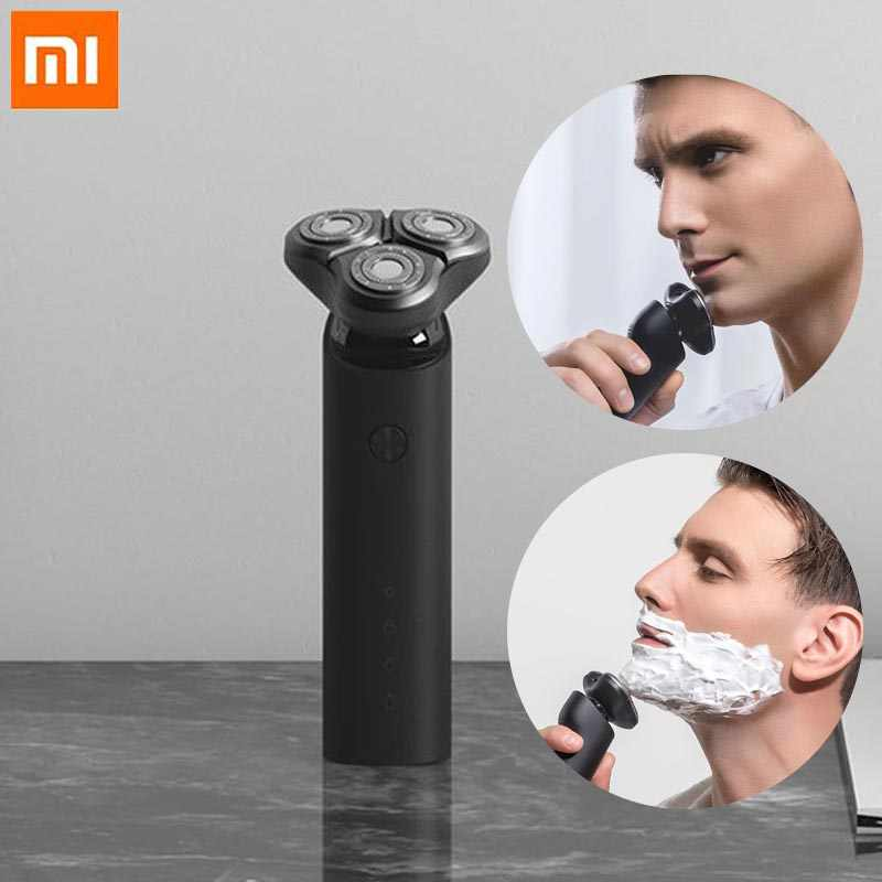 360 Degree Float Shaving Xiami Electric Razor for Men Xiaomi  Electric Shaving Razor Xiomi USB Fast Charging Xaomi  Portable