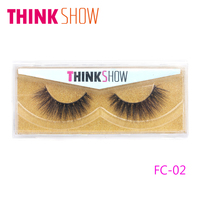 3D Natural Eye Lashes Korean Silk Mink Eyelash 100 Real Mink False Eyelash Extension Natural Long