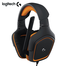Logitech Originale G231 PRODIGY Stereo Gaming Cuffie MICROFONO a Cancellazione di Rumore On Cavo da 3.5mm Auricolare Compatibile con Xbox 360 un PS4