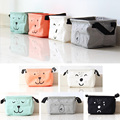 New Cotton Linen Desk Square Storage Box Jewelry Cosmetic Holder Stationery Organizer Case Bag #94881