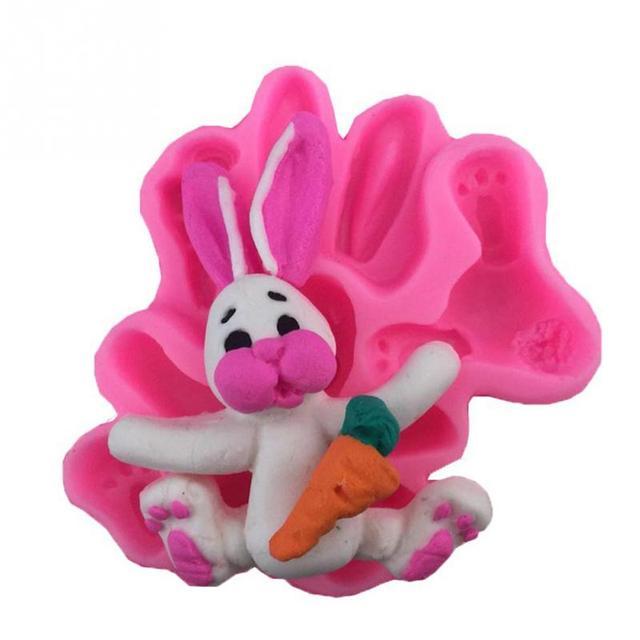 3d Ostern Kaninchen Schokoladenform Kuchen Dekoration Werkzeug