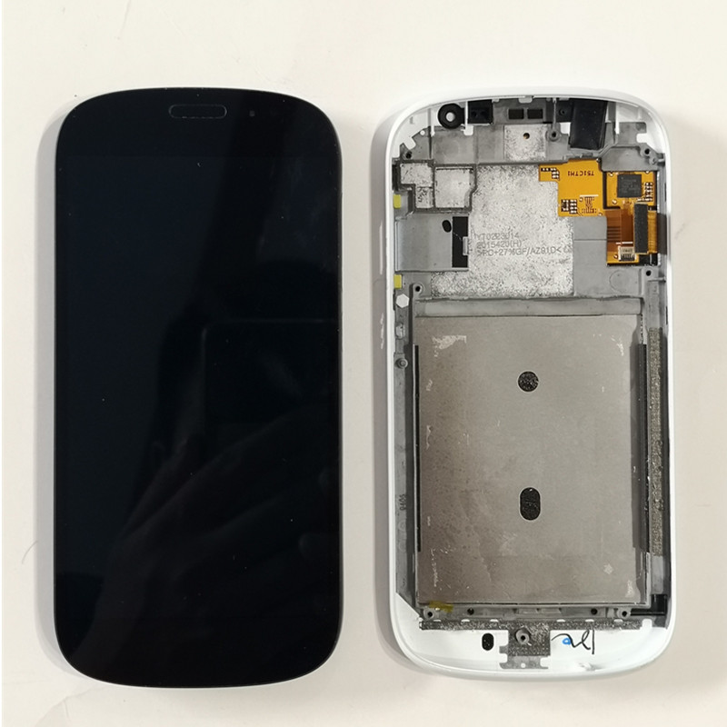 Used For YotaPhone 2 YD201 YD206 LCD Display With Frame Touch Screen Replacement Tools For YotaPhone
