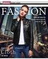Бесплатная доставка, женские зимние Натуральная кожа тонкий меховые куртки. motorbiker Азиатский размер женский овец куртка кожа Бренд Замши прохладный