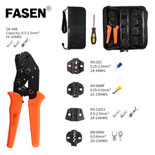 SN Crimping Tool Wiring Crimp Pliers Bare Insulation Ratchet Terminals Multitool Portfolio Tools  kit Replacement jaw