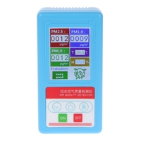 Newest PM1.0 PM 2.5 PM10 Gas Analyzer 9 Kinds Particles Detector Air Quality Monitor