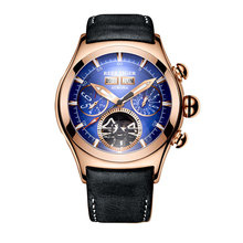 Reef Tiger/RT Luxury Mens Watches Rose Gold Automatic