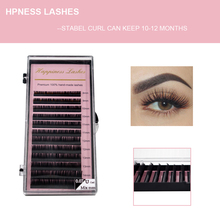 HPNESS False Eyelash Natural Long Lashes Extension All Sizes Classic For Academy