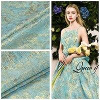 PanlongHome Spring/Autumn High grade Jacquard Fabric Damask Fabric Metal Silk Dress Fabric Pants Jacket Shirt Fabric
