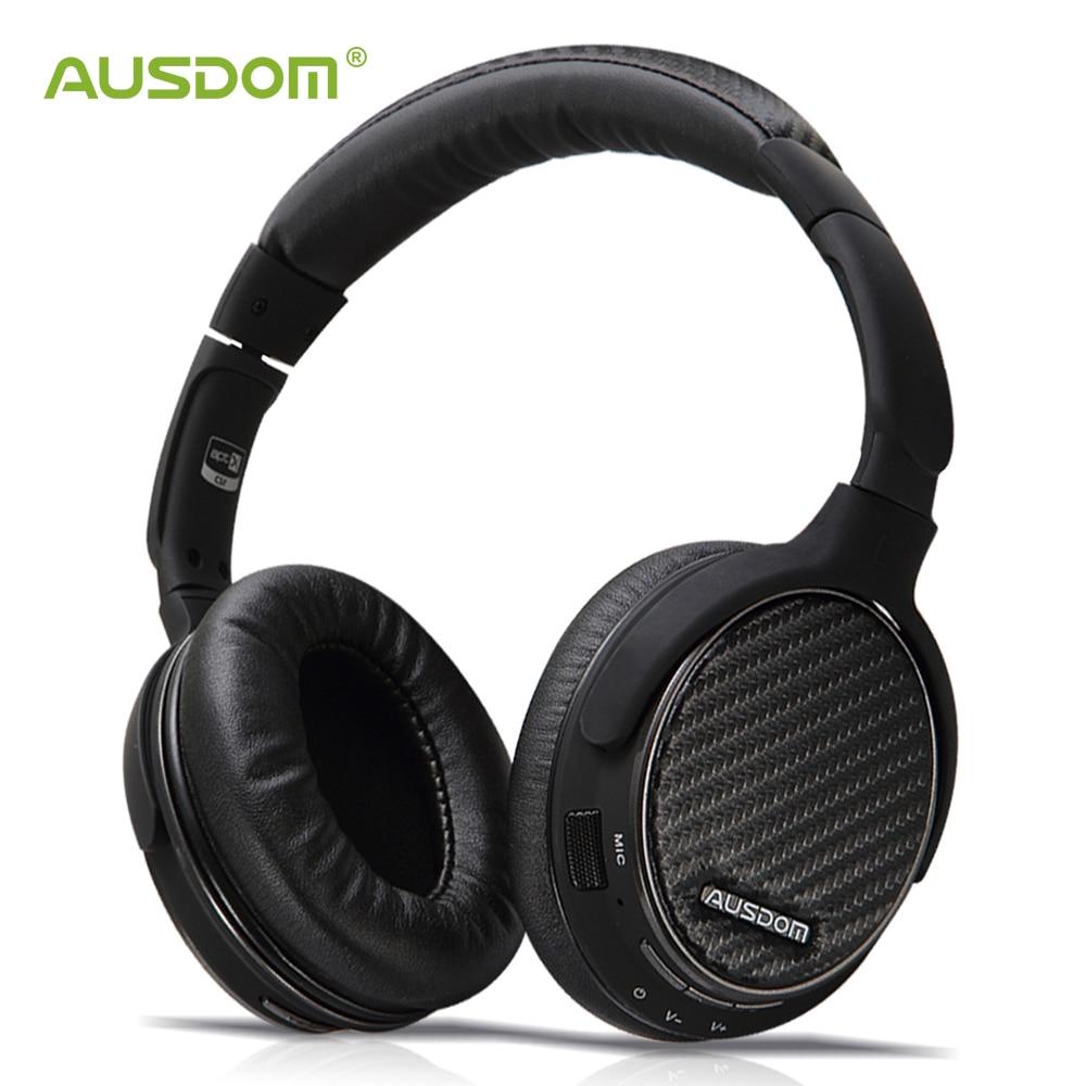 Ausdom M05 aptX Wireless Bluetooth Headphones Over-Ear Deep Bass Stereo Headset Sport Headphone with Mic HiFi CD-Like SoundAusdom M05 aptX Wireless Bluetooth Headphones Over-Ear Deep Bass Stereo Headset Sport Headphone with Mic HiFi CD-Like Sound