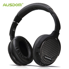 Ausdom M05 беспроводной HDMI Bluetooth наушники сверхъядерный глубокий бас стерео гарнитура спортивные наушники с микрофоном музыкальный компакт-диск-как звук