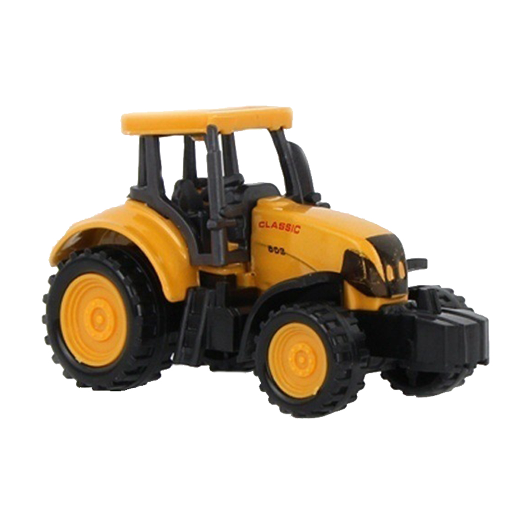 Mini Diecast Plastic Construction Vehicle Engineering Cars Excavator Model Toys For Children Boys Gift Car Children Toy Car