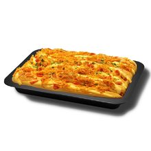 Oven Kue Baking Tray Persegi Panjang Baking Plate Kue Biskuit Pie Pizza Baking Pan Non-stick Dapur Bakeware(China)