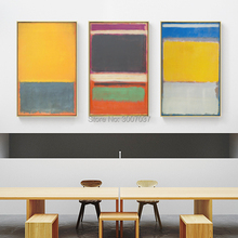 Free Shipping by DHL FEDEX UPS 100% Hand Painted Abstract Wall Art Mark Rothko Oil Painting on Canvas Unframed for Home decor pcb 650 091 pcb650 091 fast cheap shipping by dhl ups tnt fedex express