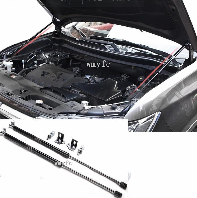 two sides Auto Bonnet Hood Gas Struts Shock Struts Lift Supports 2013-2018 for Mitsubishi outlandertwo sides Auto Bonnet Hood Gas Struts Shock Struts Lift Supports 2013-2018 for Mitsubishi outlander