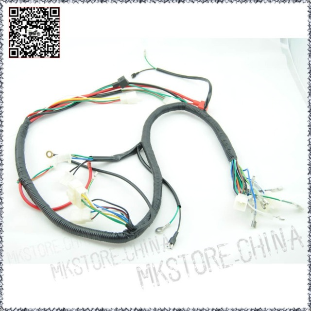 quad wiring harness 200 250cc chinese electric start loncin zongshen rh aliexpress com lifan 140 wiring harness lifan 140 wiring harness