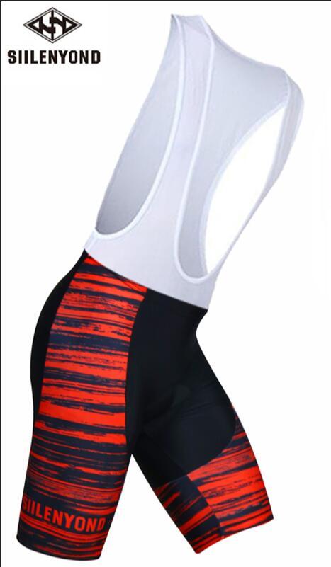 Siilenyond, мужская спортивная одежда, велосипедные шорты, мягкие, дышащие, для верховой езды, mtb, велосипедные шорты с нагрудником, анти-пот, шорты для велосипедистов mtb - Color: color 4