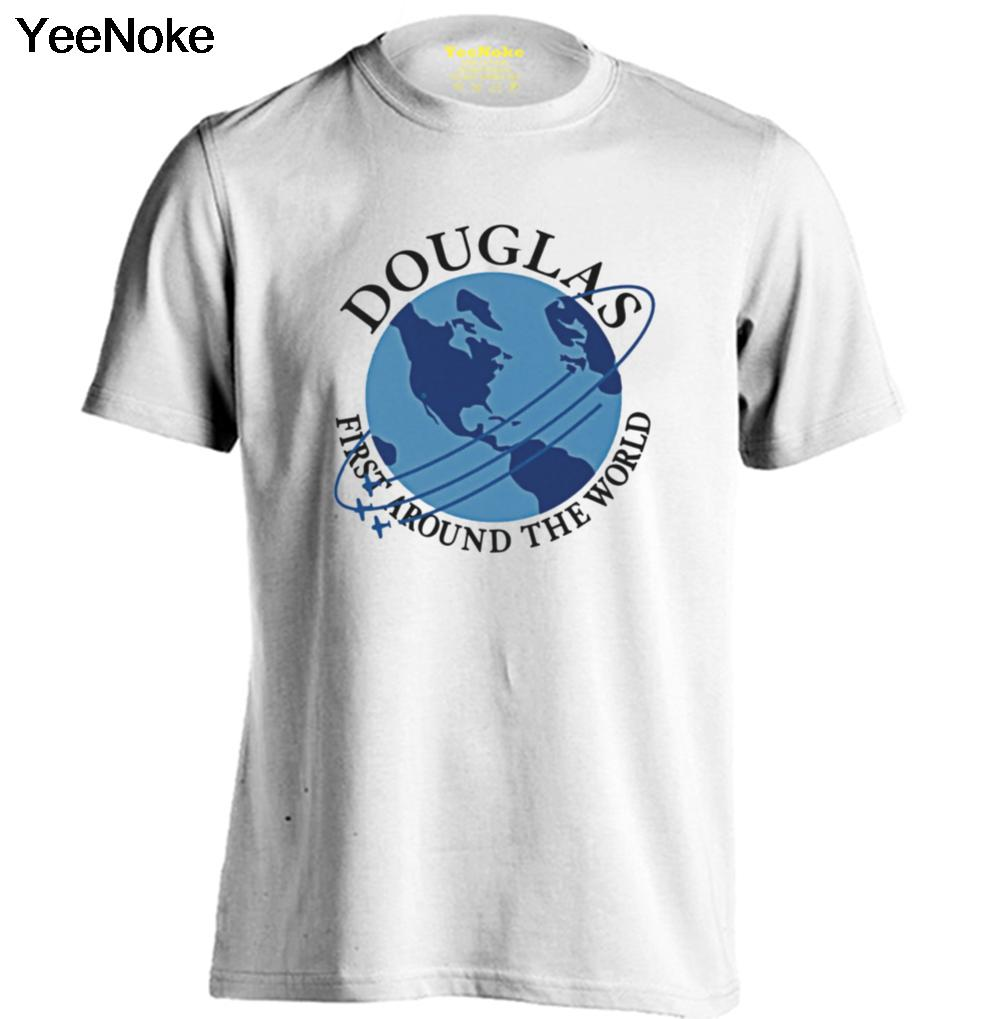 Douglas aircraft company mens womens comfortable t shirt for T shirt design companies online