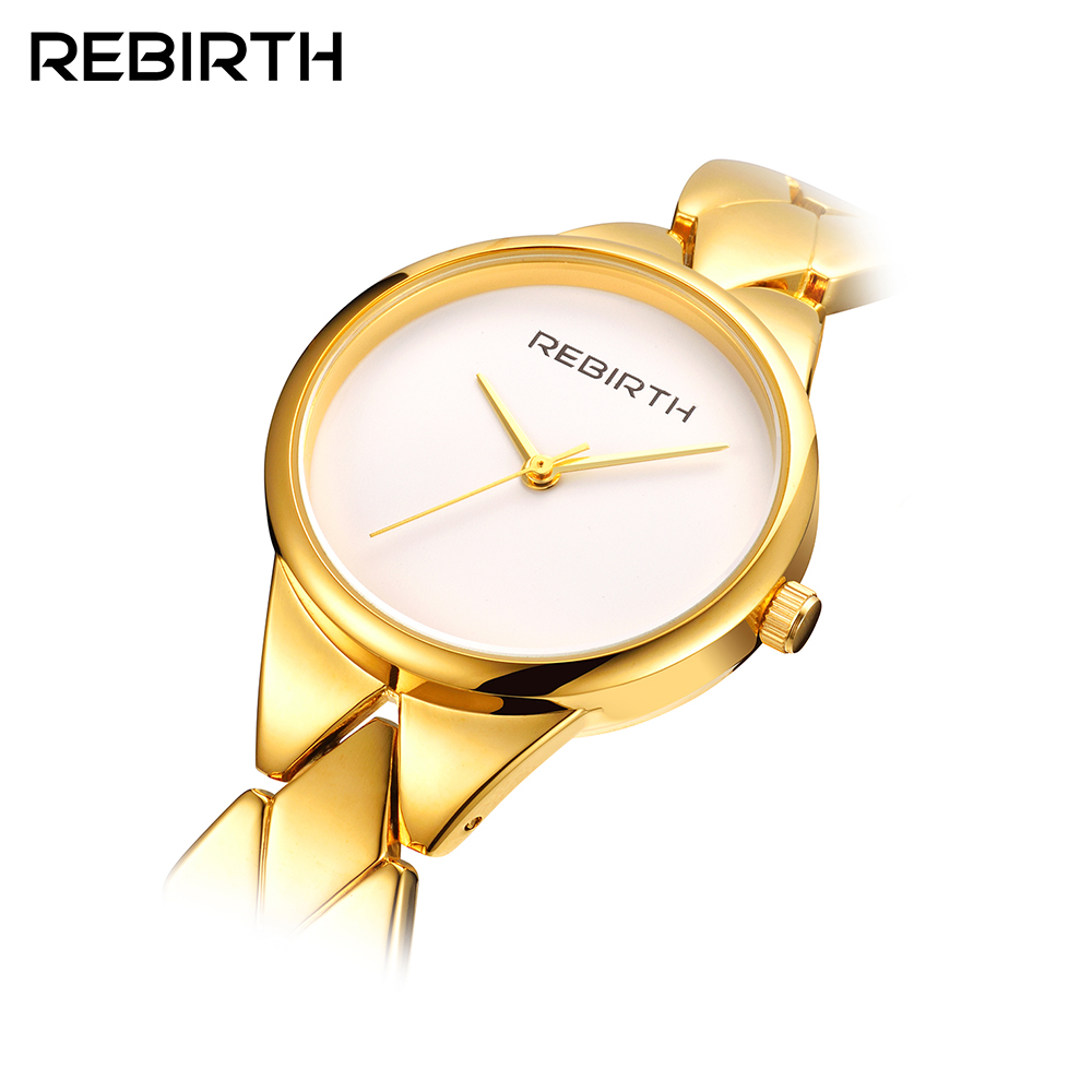 Di modo RINASCITA Delle Signore di Marca di Orologi di Marca di Lusso relogio delle Donne Casual Orologi orologio da polso Impermeabile donne Casual Vestito Orologi