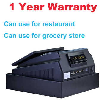With Professional POS Software 10 inch Touch Screen POS System ECR Cash Register Machine For Restaurant Or Retail Store