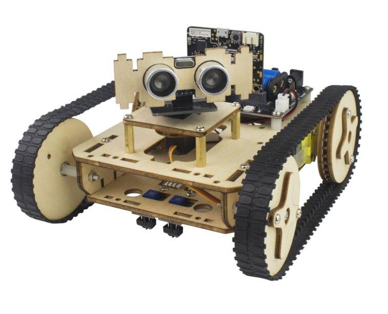 HA CONDOTTO LA luce FAI DA TE microbit Robot Scheda di Espansione Robot Braccio Trolley