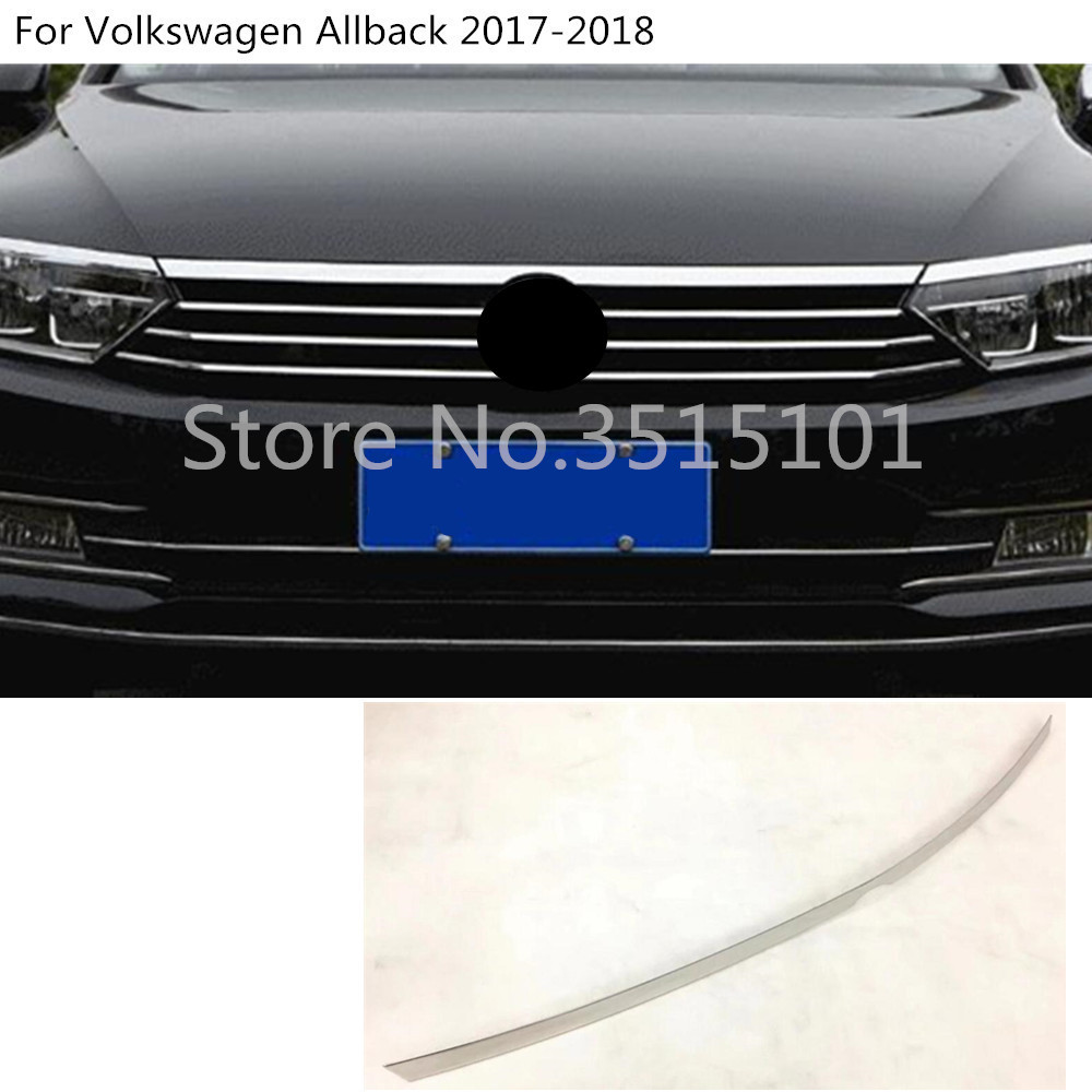 Car cover bumper engine trim Grid Grill Grille frame 1pcs For VW Volkswagen Passat B8 Sedan Variant Alltrack 2015 2016 2017 2018 grille