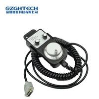 100mm Diameter Manual Pulse Generator CNC MPG CNC Controller 2 6 Axis Manual Rotary Encoder