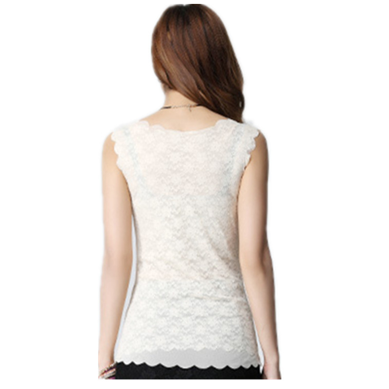 Women Tank Tops Fashion Lace Women s Tank Crochet Embroidery Fitness Summer Casual Blouse Camisole Sleeveless