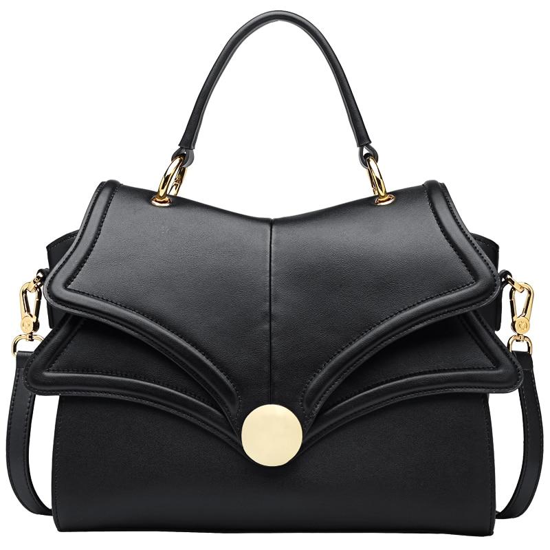 купить Winter NEW Genuine leather bag zooler luxury handbags women bags designer shoulder bags bolsos mujer de marca famosa 2018 #CK103 по цене 6694.06 рублей
