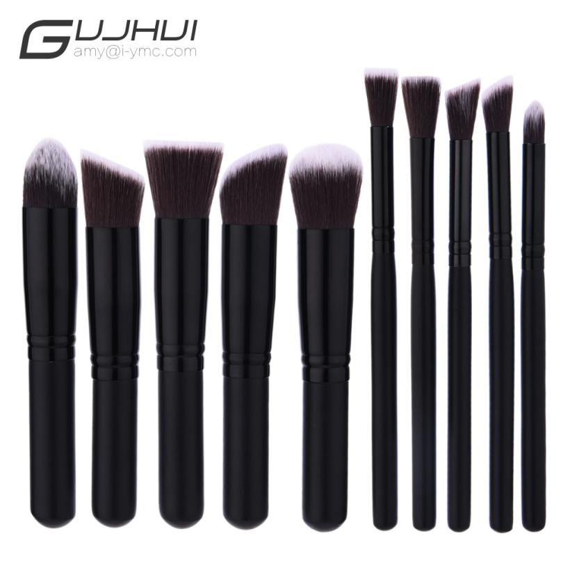 Beauty Girl 2017 10PCS Make Up Foundation Eyebrow Eyeliner Blush Cosmetic Concealer Brushes Unicorn Brush Sets Dropshopping 2017 new 24pcs mini make up foundation eyebrow eyeliner blush cosmetic concealer brushes beauty drop shipping sep25