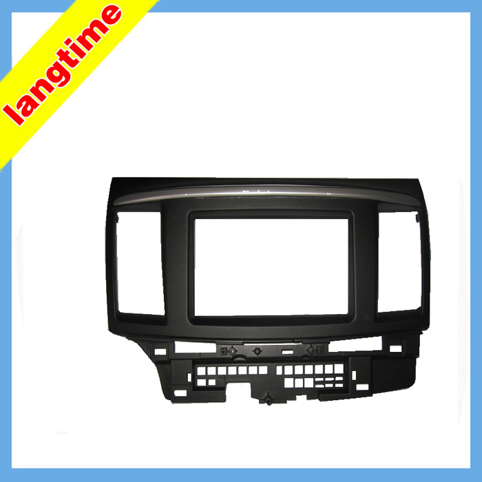 Car refitting DVD frame DVD panel Dash Kit Fascia Radio Frame Audio frame for 2010 Mitsubishi
