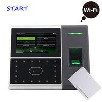 WI FI TCP RS232/485 dispositivo de atendimento Iface302 rosto de impressão digital comparecimento do tempo do cartão de IDENTIFICAÇÃO de controle de acesso máquina comparecimento rosto|Atendimento elétrico| |  -