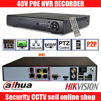 8CH 1080P HD Realtime onvif POE network Video Recorder dahua hikvision 2MP poe camera support 8ch POE NVR recorder 48V POE nvr