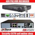 8CH 1080P HD en tiempo real onvif POE grabadora de Video en red dahua hikvision 2MP Cámara POE apoyo 8ch POE NVR grabadora 48V NVR POE
