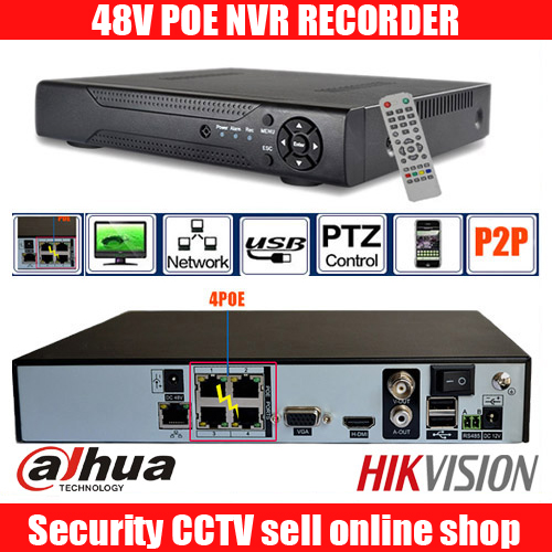 8CH 1080P HD w czasie rzeczywistym onvif POE sieciowy rejestrator wideo dahua hikvision 2MP poe uchwyt na aparat 8ch POE nvr rejestrator 48V poe nvr