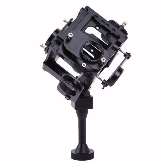 Montar gopro hd hero 3 + 4 tiro cheio caso alu 360 graus VR Panorama Esférica Quadro de Montagem Montagem De Vídeo Para A fotografia aérea