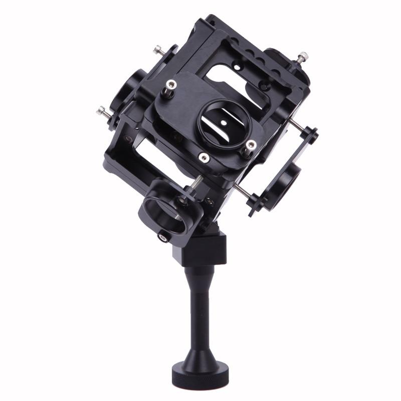 Собрать Gopro HD Hero 3 + 4 Полный Кадр Alu Case 360 градусов Сферические Панорамы Рамки Крепление VR Видео Крепление для аэрофотосъемки