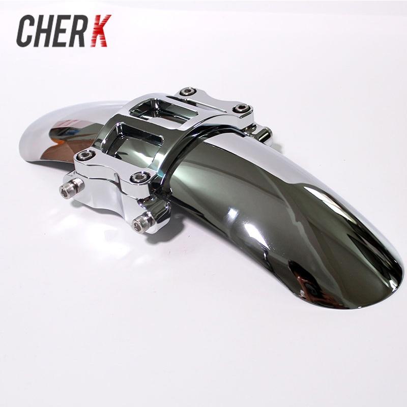 Cherk Motorcycle Custom Chrome Steel 14 Front Fender For Harley Street 500 750 XG500 XG750 2015-2018 2017 2016