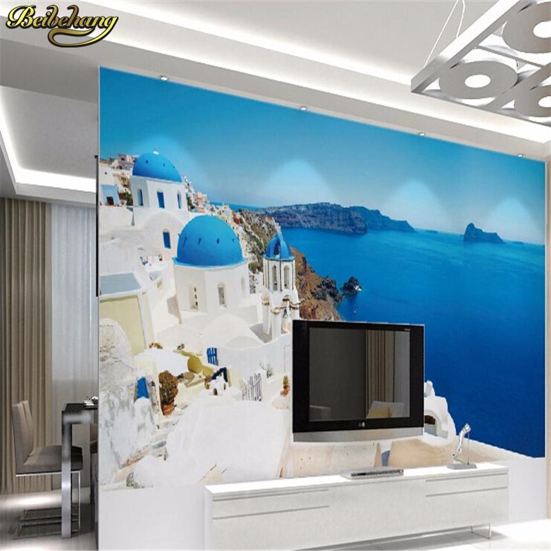 beibehang tv fondo papel tapiz para paredes d temtica bar restaurant cafe mural papel pintado