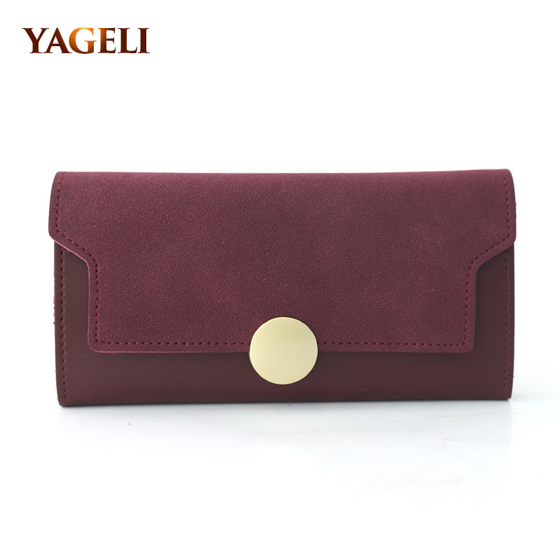 Women's Purse and Wallets Brand Design Lady Purse with Card Holder PU Leather Long Girl's Wallet With Cell Phone Pocket real genuine leather women wallets clutch floral embossed brand design cell phone card holder long lady wallet purse clutch